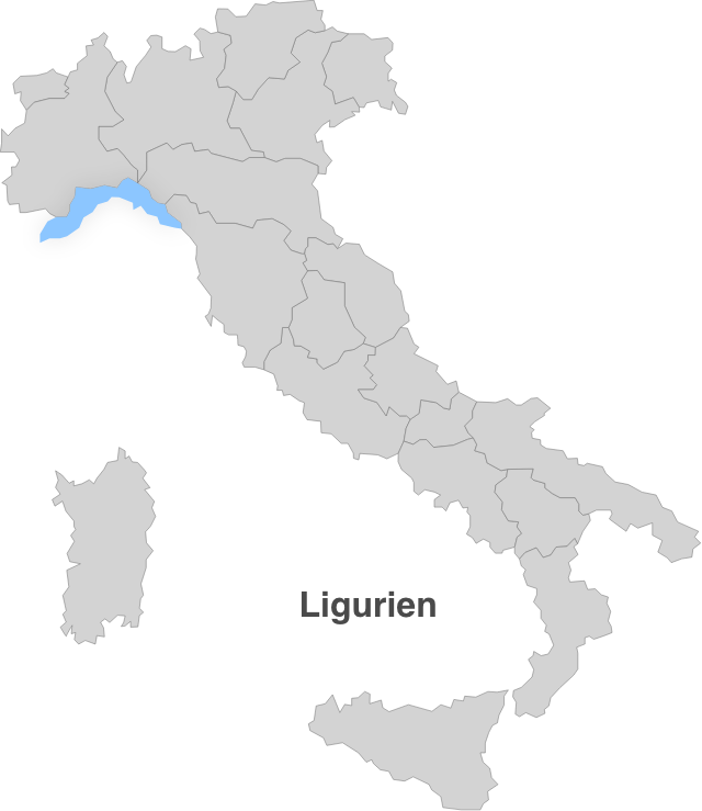 Italien – Ligurien