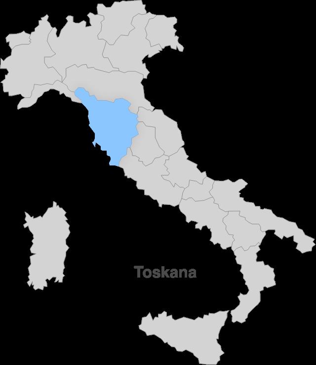 Italien – Toskana