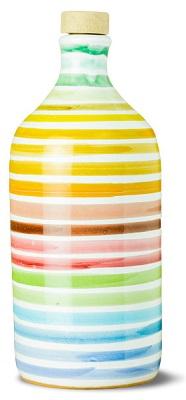 Olivenölkrug Rainbow natives Olivenöl extra Coratina 500 ml, Frantoio Muraglia