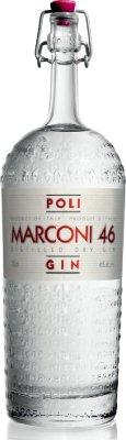 Marconi 46 Dry Gin, 0,7 l Jacopo Poli