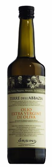 Olivenöl extra Terre dell´Abbazia, 750 ml Ursini
