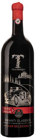 1000 Miglia Chianti Classico Gran Selezione DOCG 2016, 0,75 l Villa Trasqua