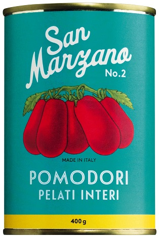 San Marzano Tomaten ganz und geschält, 400 g Il pomodoro piu buono