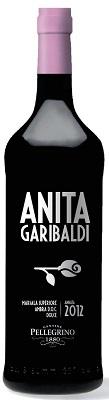 Anita Garibaldi Marsala Superiore Ambra Dolce 2012 DOC Vino Liquoroso, 0,75 l Carlo Pellegrino