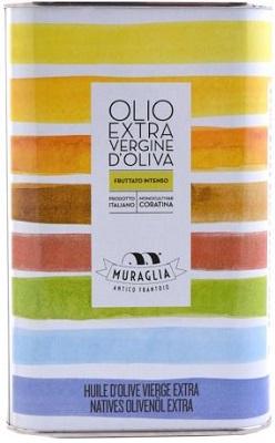 Natives Olivenöl extra Coratina Rainbow Kanister 1000 ml, Frantoio Muraglia