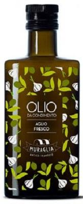 Natives Olivenöl extra mit Aglio (Knoblauch) 200 ml, Frantoio Muraglia