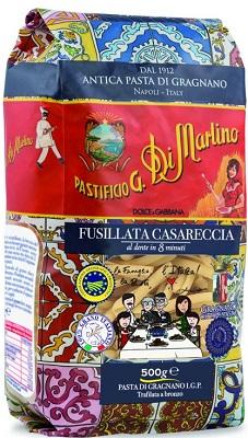 Dolce & Gabbana Limited Edition Fusillata Casareccia, 500 g Di Martino Pasta di Gragnano IGP Hartweizennudeln