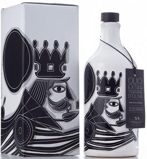 Olivenölkrug Il Re di Pierpaolo Gaballo natives Olivenöl extra Coratina 500 ml, Frantoio Muraglia Limited Edition