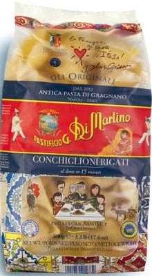Dolce & Gabbana Limited Edition Conchiglioni, 500 g Di Martino Pasta di Gragnano IGP Hartweizennudeln