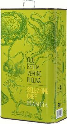 Olivenöl Selezione Chef EVO, Planeta 3 Liter Kanister