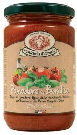 Sugo Pomodoro e Basilico, 270 ml Rustichella d´Abruzzo