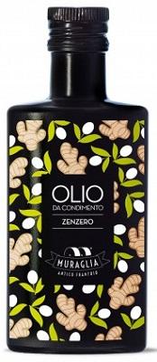 Natives Olivenöl extra mit Zenzero (Ingwer) 200 ml, Frantoio Muraglia