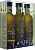 Olivenöl Geschenkset Planeta DOP Val di Mazara, 3 x 100 ml