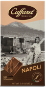 Love Italy Napoli Schokoladen-Postkarte Neapel, 80 g-Tafel Caffarel