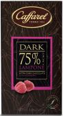 Lampone Extra Dark Extrabitter-Schokolade mit Himbeeren 75% Kakaoanteil, 80 g-Tafel Caffarel