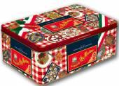 Dolce & Gabbana Limited Edition Pastabox mit Tischsets, 5 x 500 g Di Martino Pasta und 2 x 400 g Tomaten
