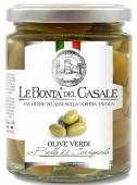 Olive verdi Bella di Cerignola Grüne Oliven 280 g, Le Bontà del Casale