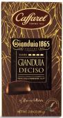 Gianduia Deciso Bitterschokoladentafel mit Gianduia, 80 g-Tafel Caffarel