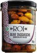 Ligurische Taggiasca Oliven ohne Stein in nativem Olivenöl extra 180 g, Olio Roi